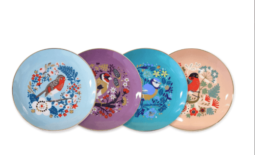 Birdy Set of 4 Plates