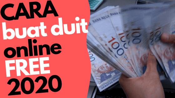 7 Cara Mendapatkan Uang dari Internet Tanpa Modal Termudah Tahun 2020