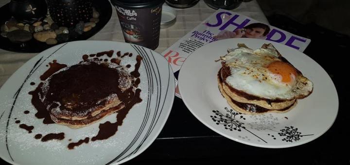 Pancakes αλμυρά και γλυκά