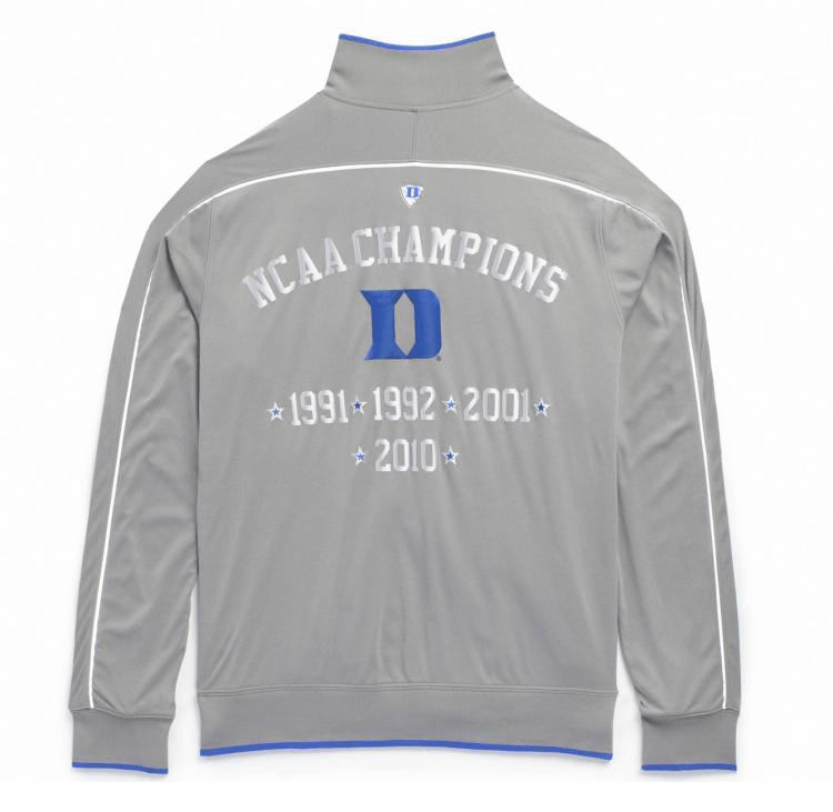 Nike-Hyper-Elite-Platinum-Duke-Warm-Up-Jacket - DukeBlog