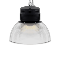 LED-LB-2003-PC-RF-PC-16IN-60D-200 Series, 120W, 150W. 16 Inch 60 Degree PC Reflector. Duke Light High Bay and Low Bay lights are engineered with rugged steel or cast aluminum housings and are damp rated for outstanding reliability in warehouses, storage facilities, retail and light industrial locations with 12 to 60 foot ceiling heights.