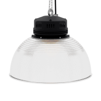 LED-LB-2001-PC-RF-PC-19IN-60D-200 Series, 30W, 40W, 50W, 60W, 80W. 19 Inch 60 Degree PC Reflector. Duke Light High Bay and Low Bay lights are engineered with rugged steel or cast aluminum housings and are damp rated for outstanding reliability in warehouses, storage facilities, retail and light industrial locations with 12 to 60 foot ceiling heights.