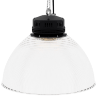LED-LB-2001-PC-RF-PC-22IN-60D-200 Series, 30W, 40W, 50W, 60W, 80W. 22 Inch 60 Degree PC Reflector. Duke Light High Bay and Low Bay lights are engineered with rugged steel or cast aluminum housings and are damp rated for outstanding reliability in warehouses, storage facilities, retail and light industrial locations with 12 to 60 foot ceiling heights.