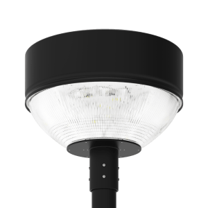 LED-AREA-1912 Series, 19 Inch Round LED Area Post Top Lighting Fixtures - 60 Watts, 80 Watts, 100 Watts, 120 Watts, 150 Watts, 180 Watts, 200 Watts, 240 Watts, 320 Watts, 2700K 3000K 4000K 5000K 5700K 6000K, 120VAC, 277VAC, 347VAC, 380VAC, 480VAC, 500VAC