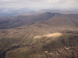 Pen y Fan, highest mountain in South Wales