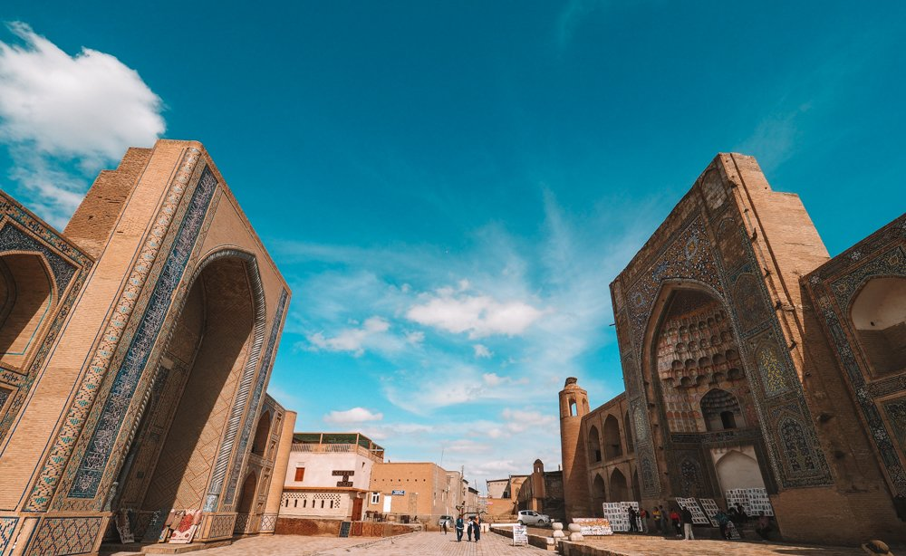 Ulugbeg Madrasah and the Abdulaziz Khan Madrasah