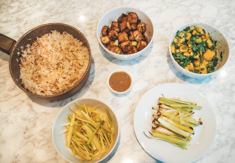 tofu poke bowl recipe