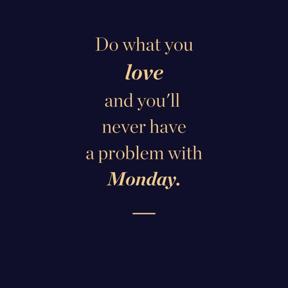 Monday blues quote