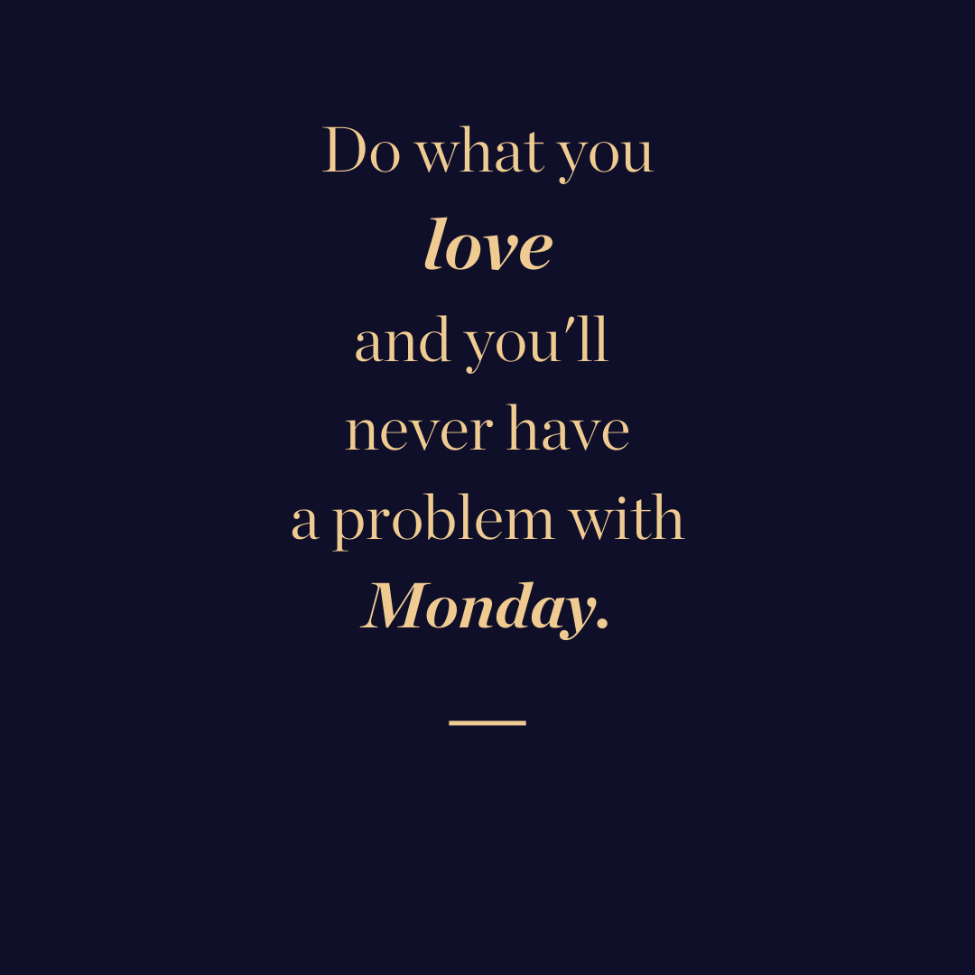 Monday blues quote