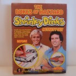 Dukes of Hazzard Shrinky Dinks
