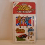 Dukes of Hazzard Puffi-Stickers #1011
