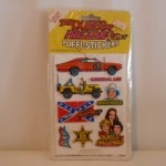 Dukes of Hazzard Puffi-Stickers #1013
