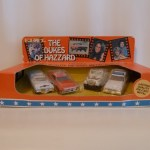 Ertl 4 Car Set - Caddy, General, Dixie, Police