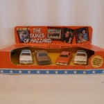 Ertl 4 Car Set - Police, Cooter, General, Police