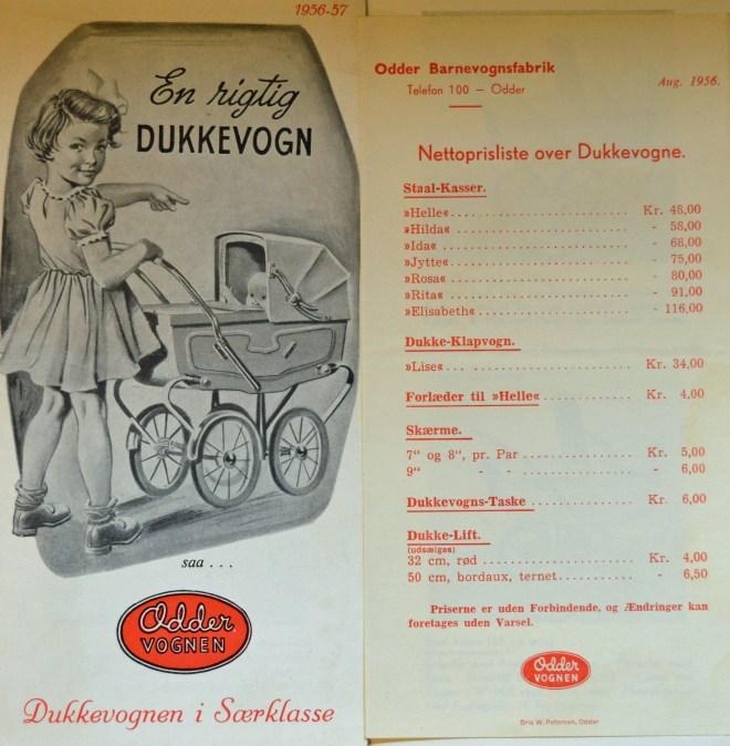 Odder dukkevogn i særklasse 1956