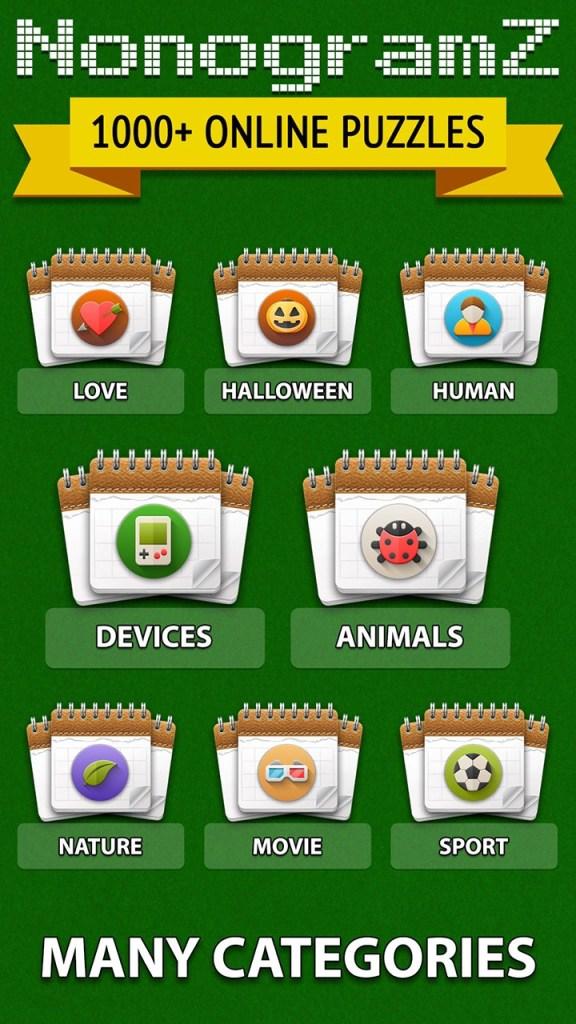 NonogramZ: 1000+ online puzzles Screenshot 2