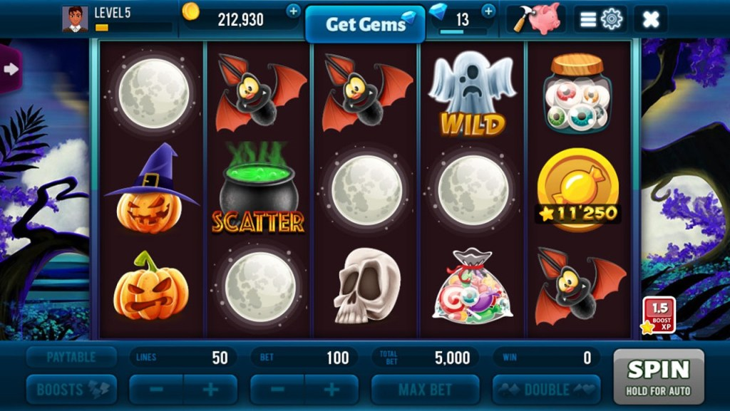 Halloween Jackpot Win Slots Screen 2