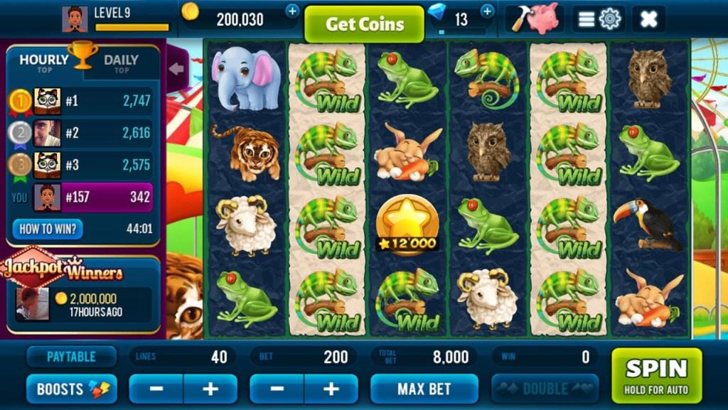 Rich Zoo Slots - Fun Casino Game - Screenshot #1