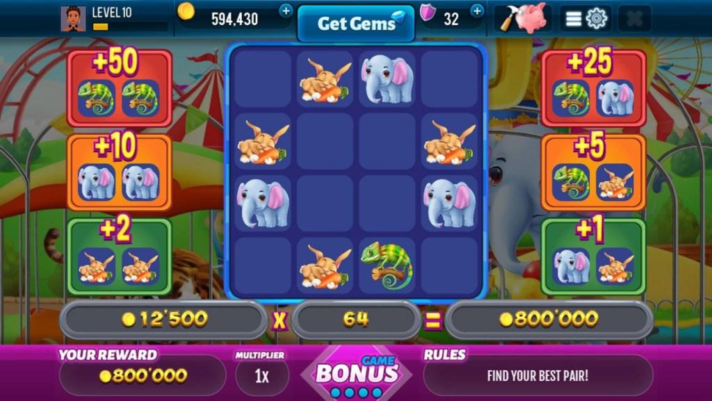 Rich Zoo Slots - Fun Casino Game - Screenshot #4