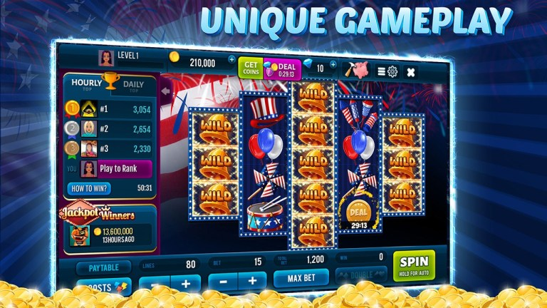 Independence Spin – Free Slot Machine Game