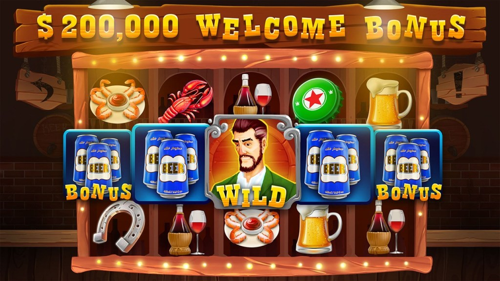 Lucky Barman Free Slots Casino Game Screen 1