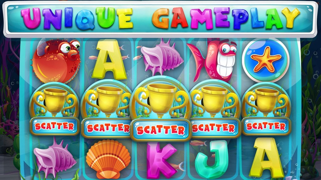 Treasury of Atlantis - Free Slot Machine Screen 1