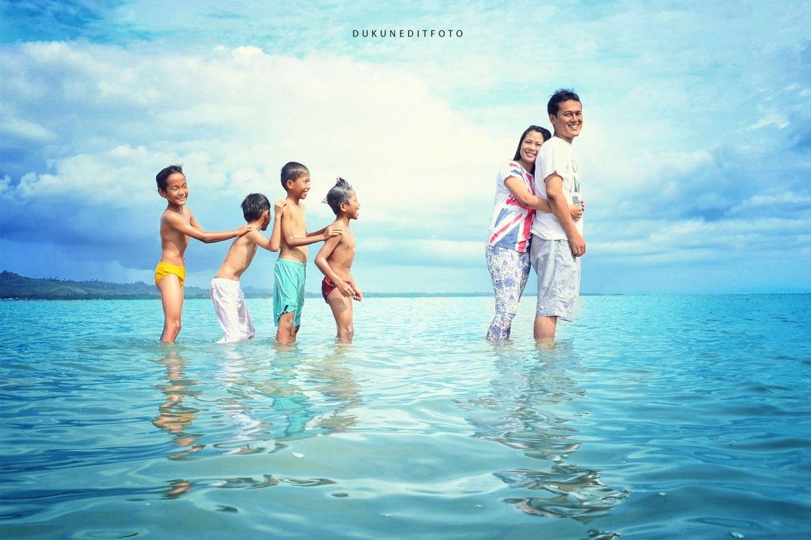 Lokasi Pantai Eching nunukan Kab. Nunukan Kalimantan Utara