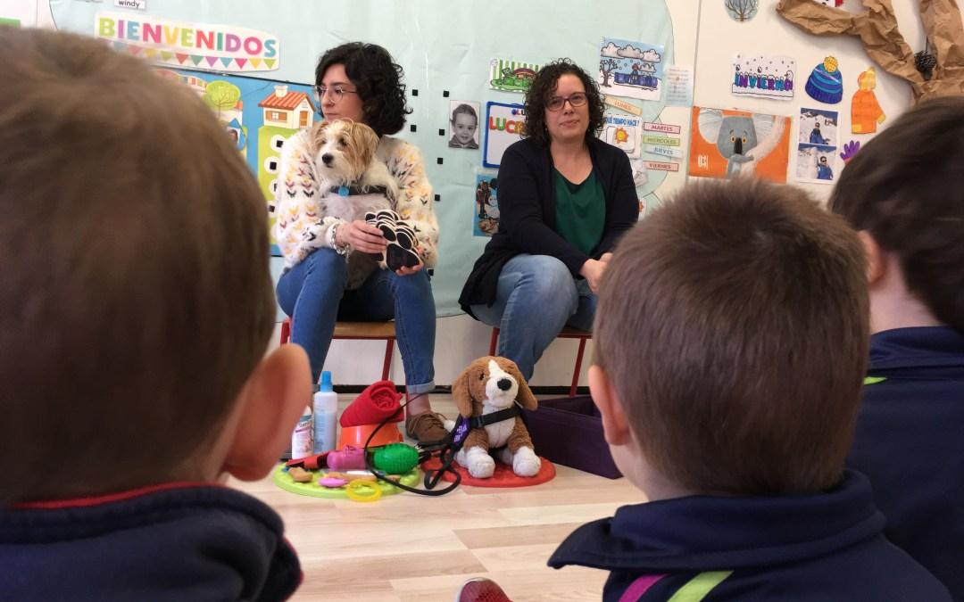 Actividad para alumnos de primaria de Carmelitas en Zaragoza