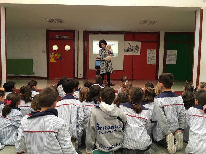 Actividad formativa de la Fundación CANEM en el Colegio Británio de Aragón