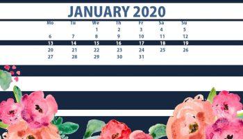 47 Best Cute September 2020 Calendar Floral Wallpaper For Desktop