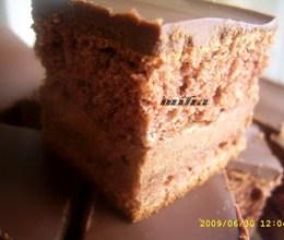 Prajitura Cuburi ciocolatoase