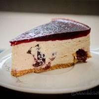 Cheesecake cu visine fara coacere