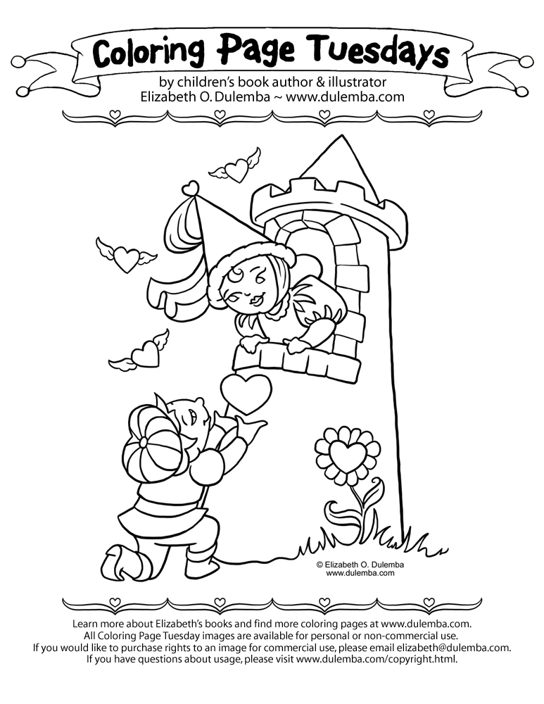 coloring page is posted each week and to view more coloring pages