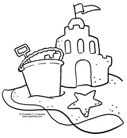 sand castle coloring pages dulemba coloring page tuesday