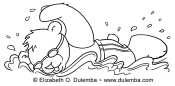 dulemba coloring page tuesday olympic swimmer