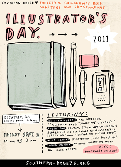 Southern Breeze Illustrators Day poster