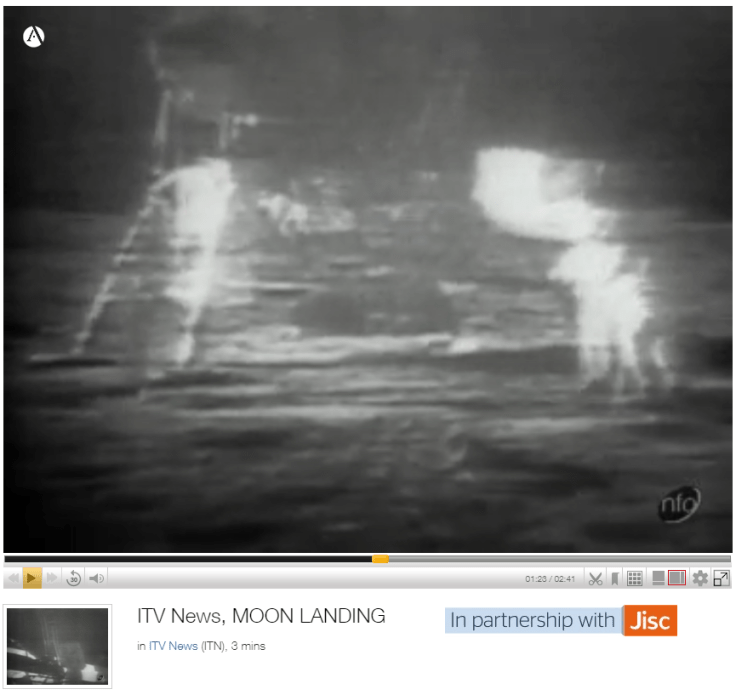 ITV News: Moon Landings (Jul 1969)