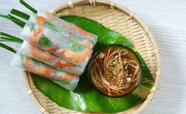 Đi Sài Gòn ăn gì ngon, hấp dẫn. Món ăn đặc sản Sài Gòn. Gỏi cuốn