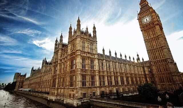 Tháp đồng hồ Big ben Anh quốc