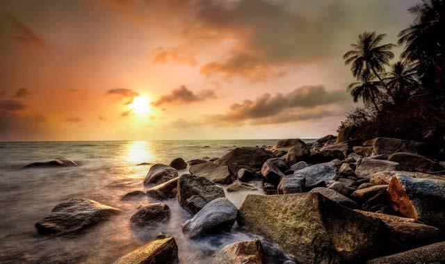 Bình minh trên đảo Hòn Lại Sơn Kiên Giang