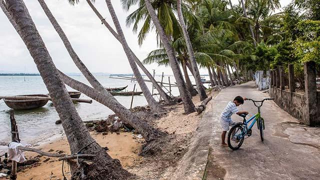 Vẻ đẹp về cuộc sống bình yên trên đảo Tam Hải huyện Núi Thành Quảng Nam