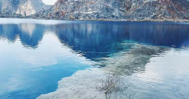 Hồ nước xanh ở Hải Phòng
