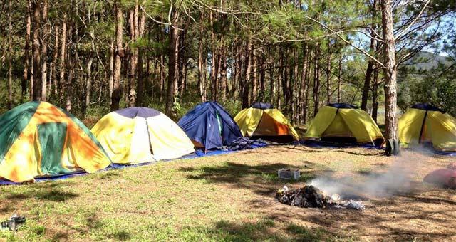Cắm trại tại hồ Tuyền Lâm Đà Lạt - Du lịch năm châu