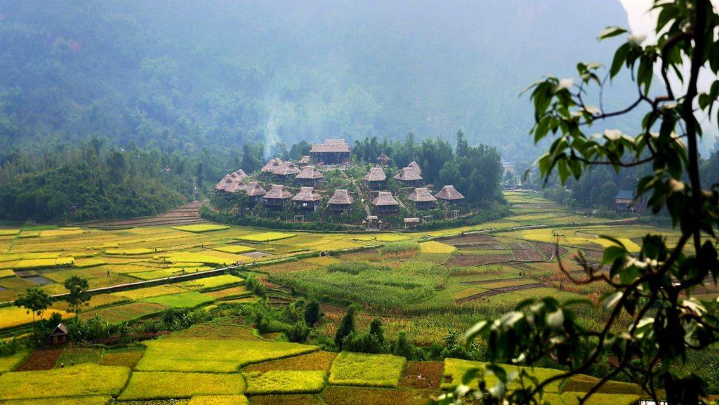 Mê mẩn nét nguyên sơ của những bản làng cổ Mai Châu