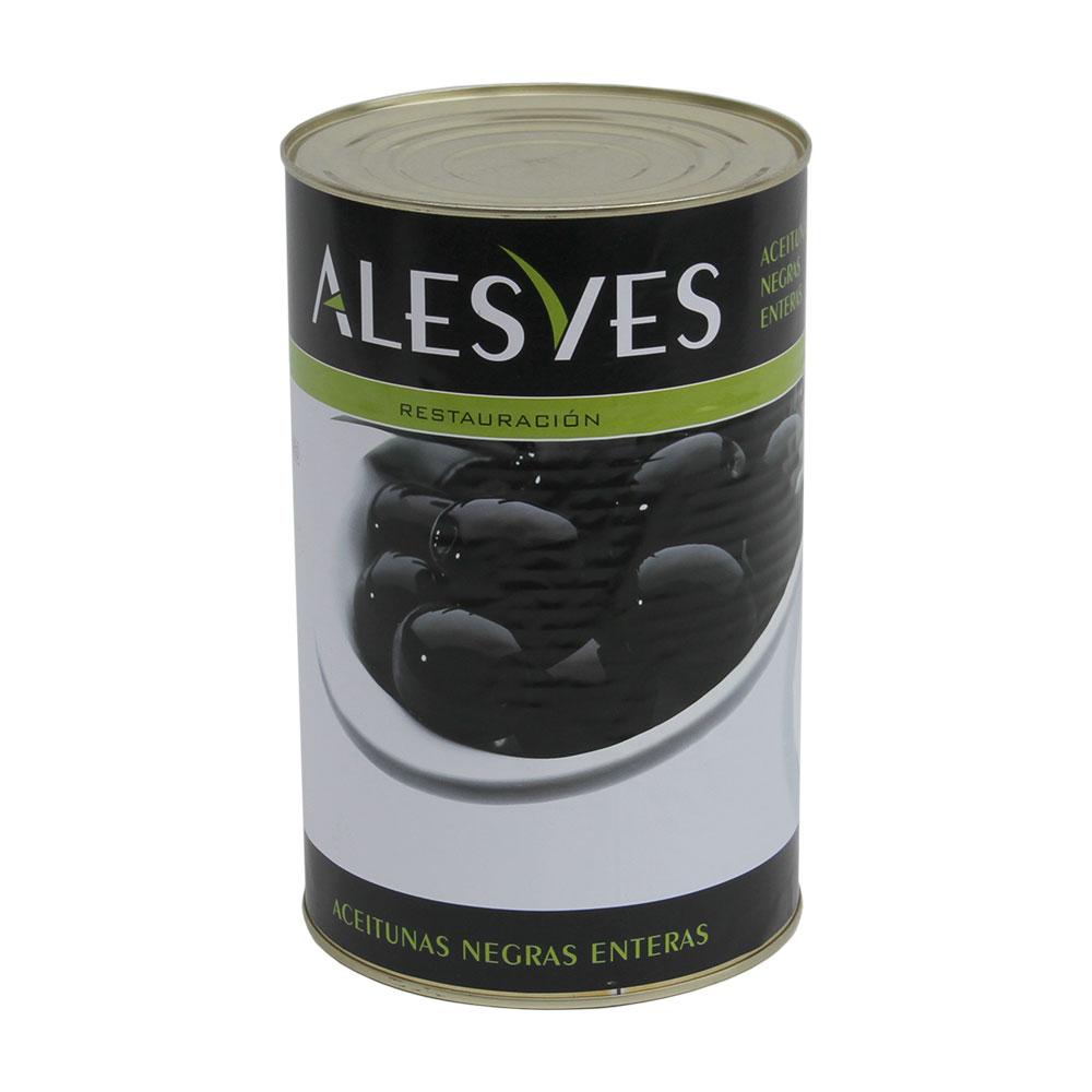 Aceitunas Negras Enteras 4,25Kg
