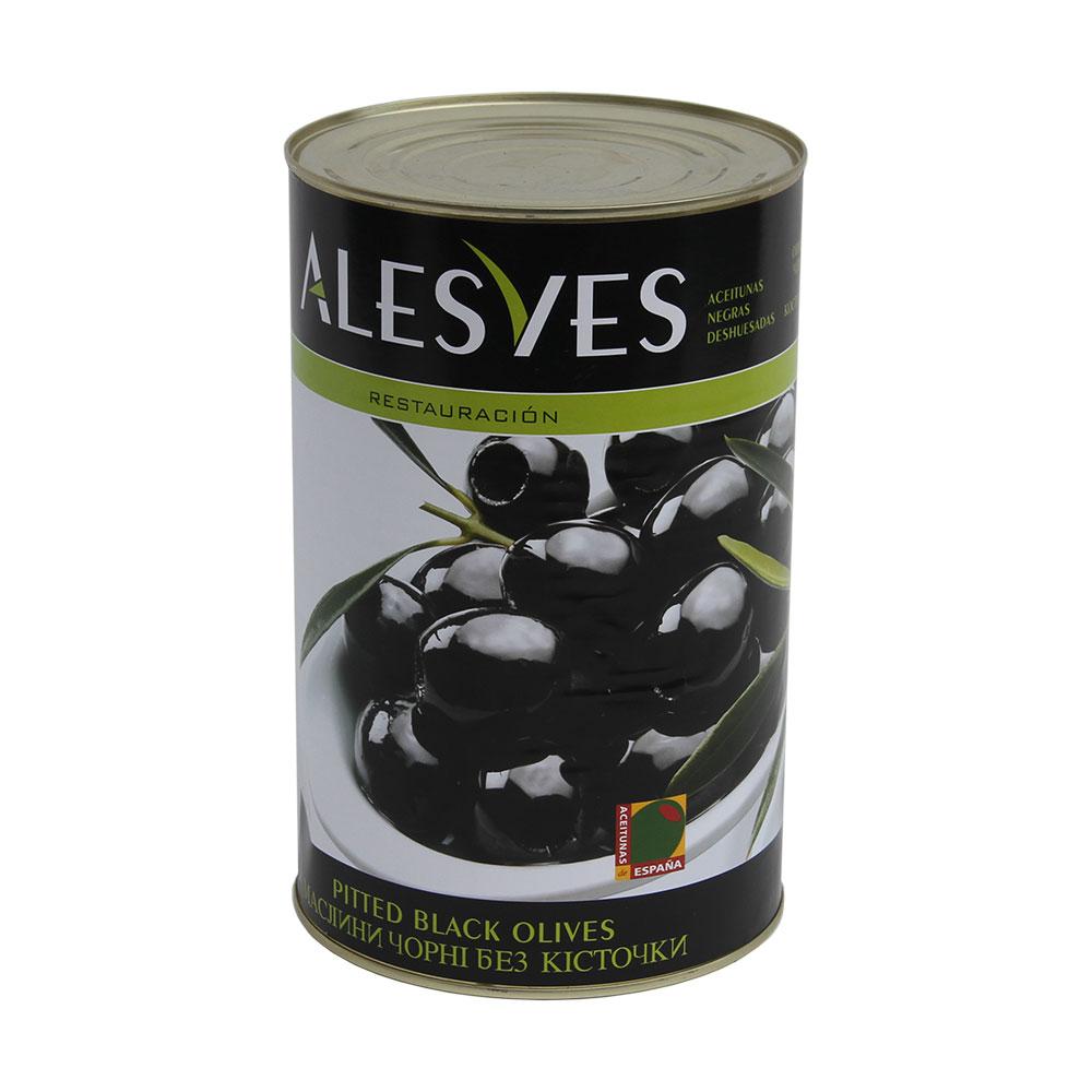 Aceitunas Negras Deshuesadas 4,25Kg