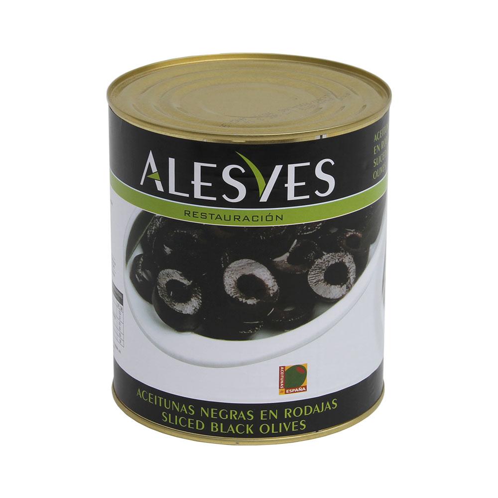 Aceitunas Negras en Rodajas 3,1Kg