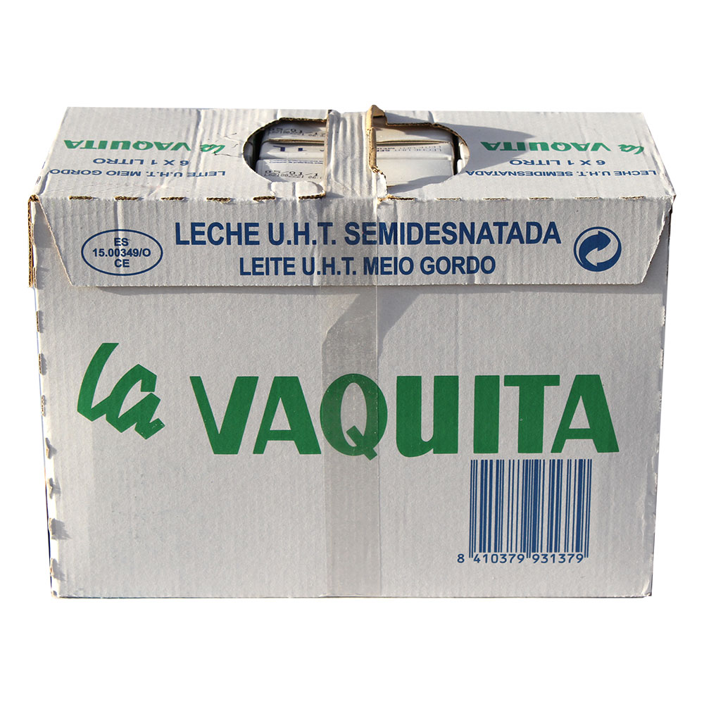 Leche Semidesnatada La Vaquita