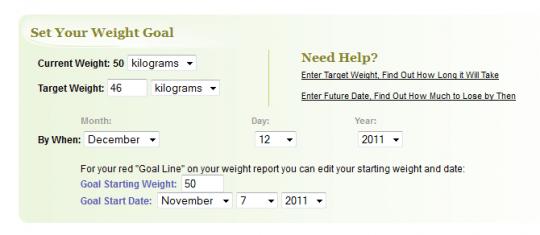 weight-goal
