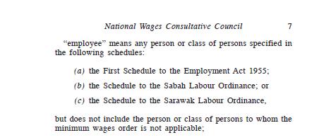 employee minimum wage